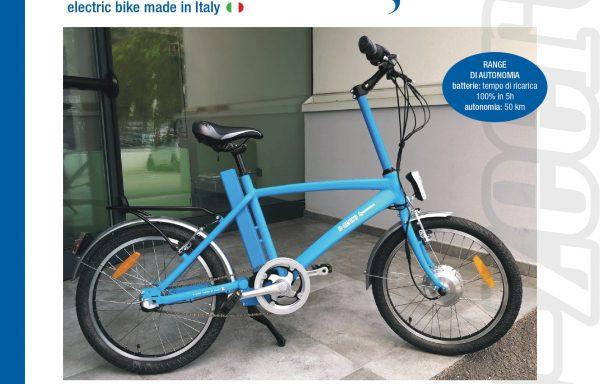 E-Zeero electric bike made in Italy